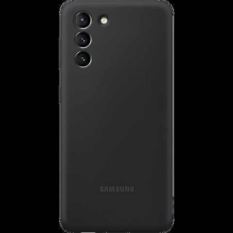 Samsung Silicone Cover Galaxy S21 5G - Schwarz 99931732 vorne