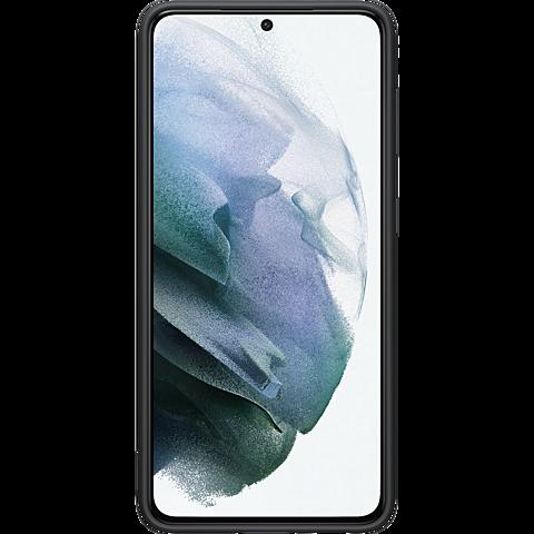 Samsung Silicone Cover Galaxy S21 5G - Schwarz 99931732 hinten