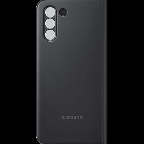 Samsung Clear View Cover Galaxy S21+ - Schwarz 99931733 hinten