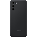 Samsung Silicone Cover Galaxy S21+ - Schwarz 99931735 kategorie