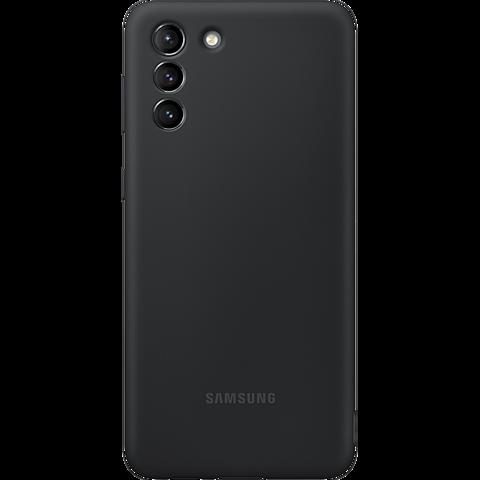 Samsung Silicone Cover Galaxy S21+ - Schwarz 99931735 vorne