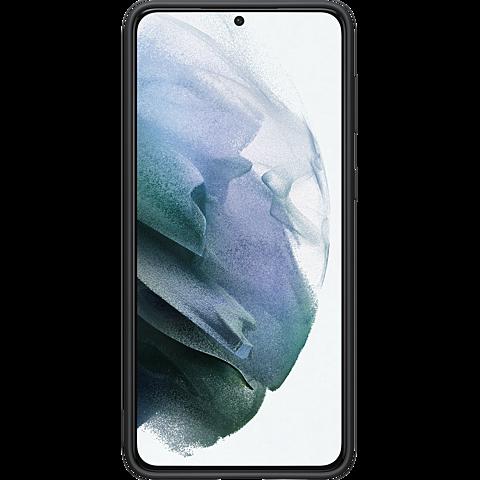 Samsung Silicone Cover Galaxy S21+ - Schwarz 99931735 hinten