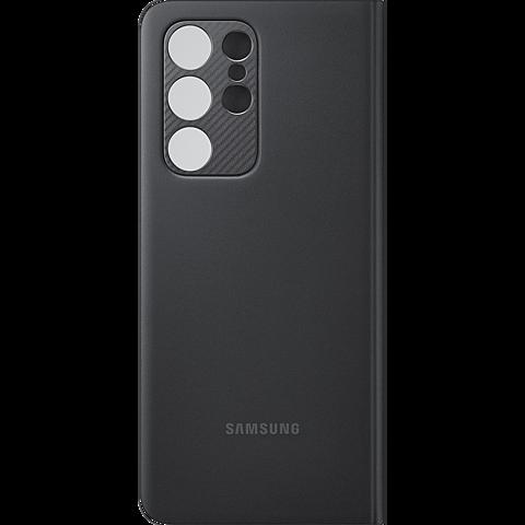 Samsung Clear View Cover Galaxy S21 Ultra 5G - Schwarz 99931736 hinten