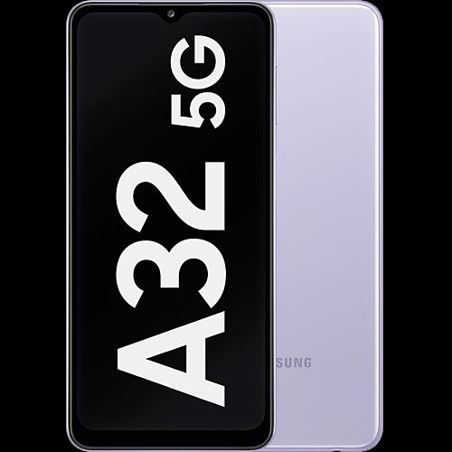 Samsung Galaxy A32 5G Awesome Violet Vorne und Hinten