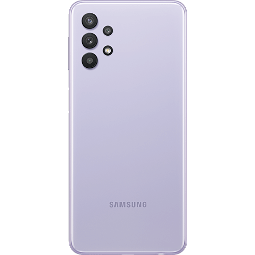 Samsung Galaxy A32 5G Awesome Violet Hinten