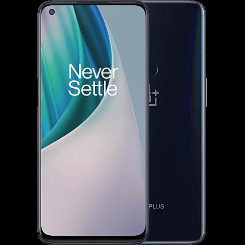 OnePlus Nord N10 5G + Buds Z Midnight Ice Vorne und Hinten