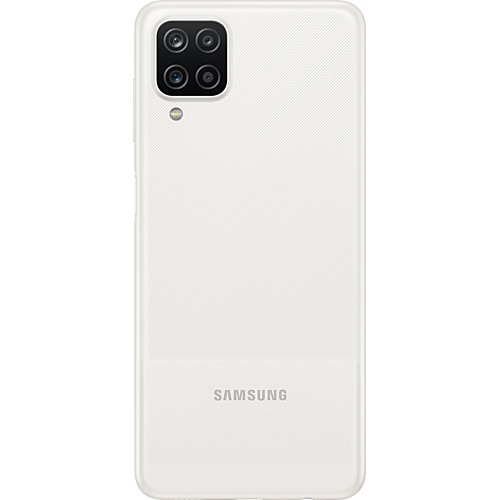 Samsung Galaxy A12 White Hinten