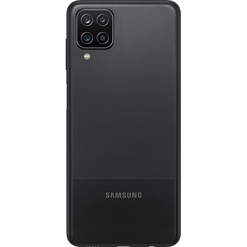 Samsung Galaxy A12 Black Hinten
