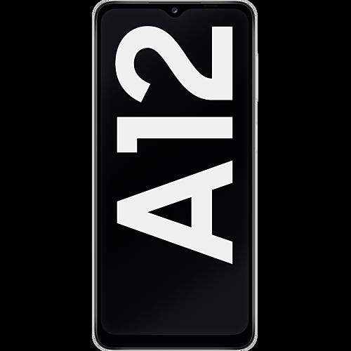 Samsung Galaxy A12 White Vorne