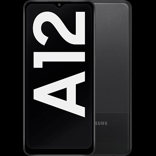 Samsung Galaxy A12 Black Vorne und Hinten
