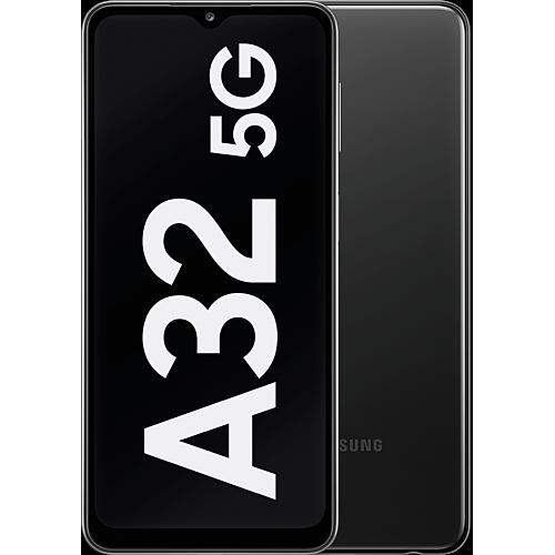 Samsung Galaxy A32 5G Enterprise Edition Awesome Black Vorne und Hinten