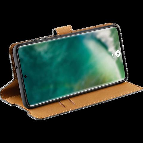 xqisit Slim Wallet Selection Samsung Galaxy S21 Ultra - Transparent 99931778 seitlich