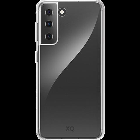 xqisit Flex Case Samsung Galaxy S21+ - Transparent 99931780 vorne