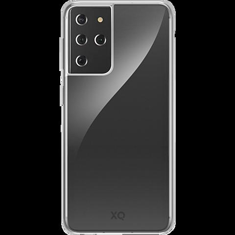 xqisit Flex Case Samsung Galaxy S21 Ultra - Transparent 99931781 vorne