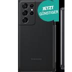 Samsung Silicone Cover Galaxy S21 Ultra 5G und S Pen - Schwarz 99931738 kategorie