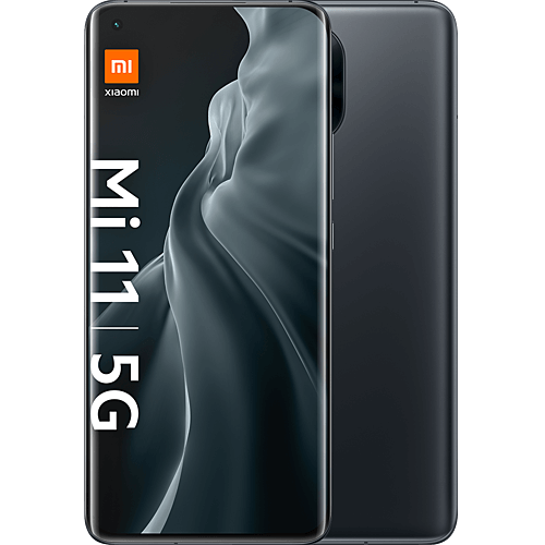 Xiaomi Mi 11 5G Midnight Gray Vorne und Hinten