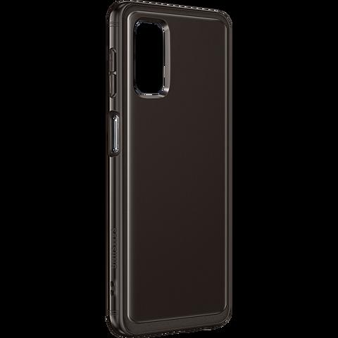 Samsung Soft Clear Cover Galaxy A32 - Schwarz 99931847 seitlich
