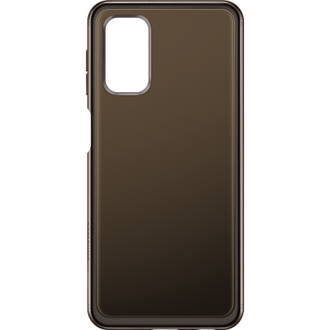 Samsung Soft Clear Cover Galaxy A32 - Schwarz 99931847 vorne