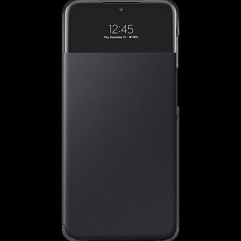Samsung Smart S-View Wallet Cover Galaxy A32 - Schwarz 99931846 vorne