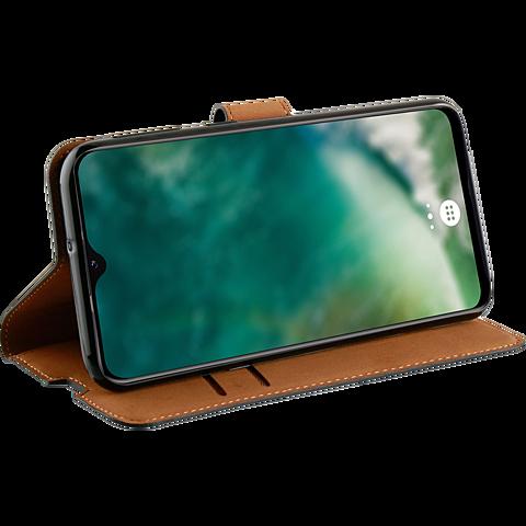 xqisit Slim Wallet Selection Samsung Galaxy A32 5G - Schwarz 99931823 seitlich
