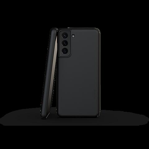 Nudient Cover V3 Samsung Galaxy S21 - Schwarz 99931717 vorne