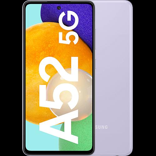 Samsung Galaxy A52 5G Awesome Violet Vorne und Hinten