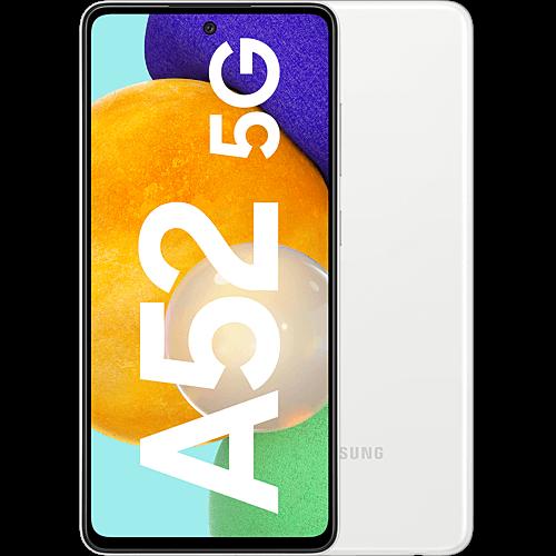 Samsung Galaxy A52 5G Awesome White Vorne und Hinten