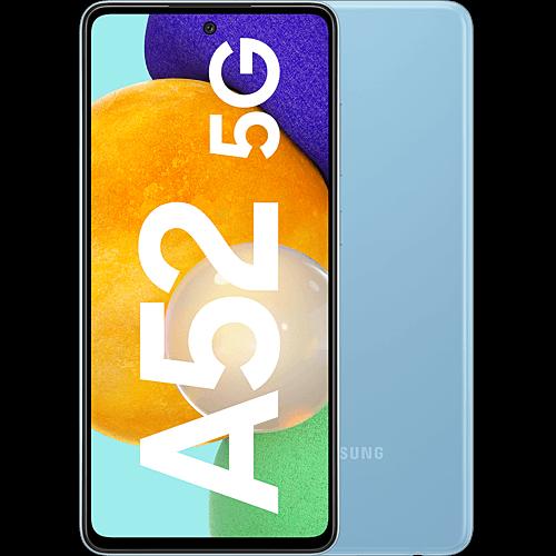 Samsung Galaxy A52 5G Awesome Blue Vorne und Hinten