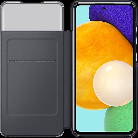Samsung Smart S- View Wallet Cover Galaxy A52 5G - Schwarz 99931848 seitlich