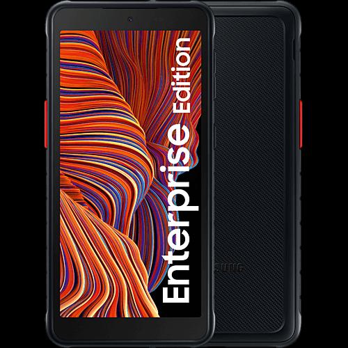 Samsung Galaxy Xcover 5 Enterprise Edition Black Vorne und Hinten