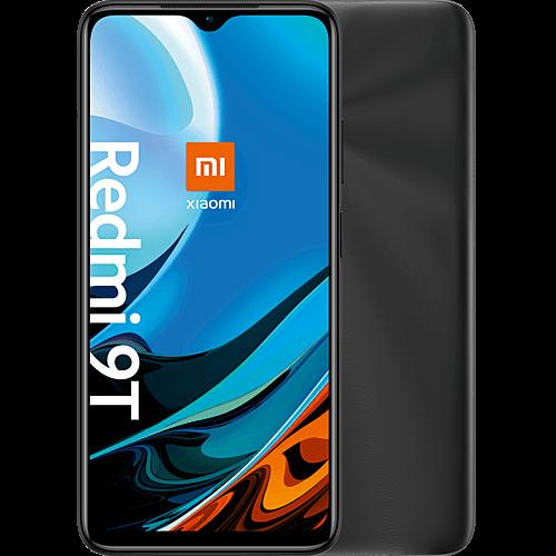 Xiaomi Redmi 9T Carbon Gray Vorne und Hinten
