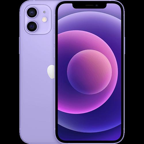 Apple iPhone 12 Violett Vorne und Hinten