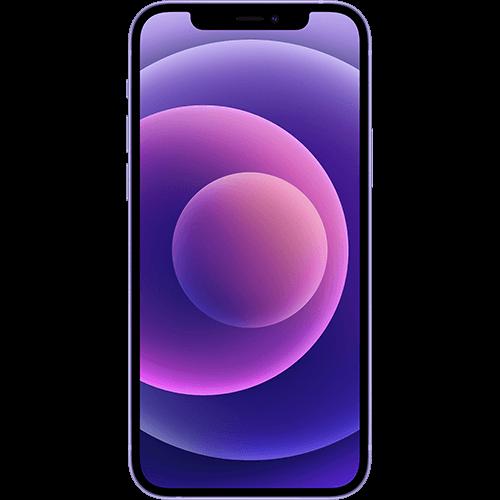 Apple iPhone 12 mini Violett Vorne