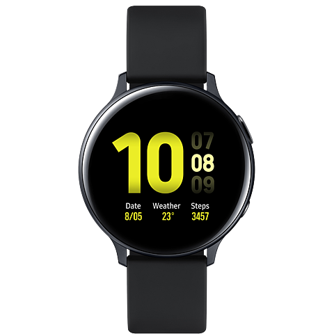 Samsung Galaxy Watch Active2 - Aqua Black 99932028 vorne