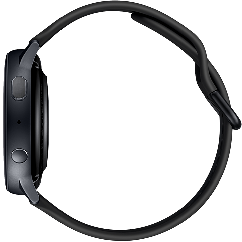 Samsung Galaxy Watch Active2 - Aqua Black 99932028 seitlich