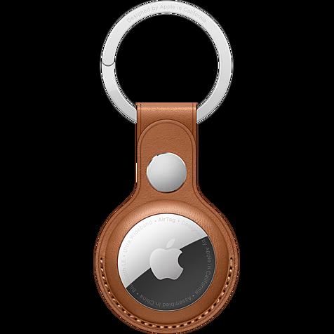 Apple AirTag Leder Schlüsselanhänger - Sattelbraun 99932116 hero