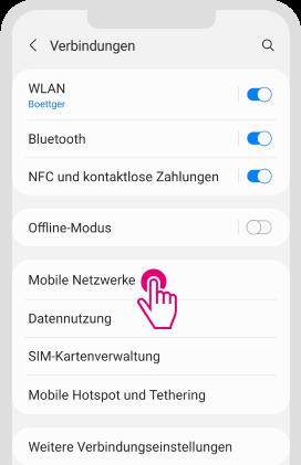 Daten-Roaming für Android aktivieren - Schritt 2