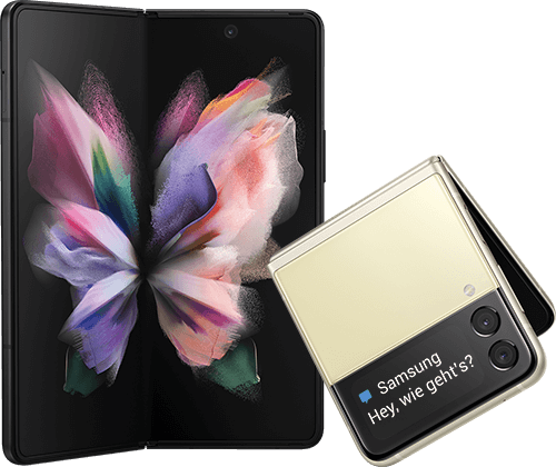 Samsung Galaxy Fold3 5g + Flip3 5G