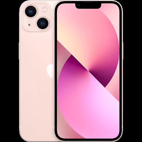 Apple iPhone 13 Rosé Vorne und Hinten