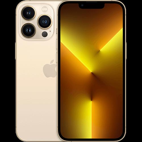 Apple iPhone 13 Pro Gold Vorne und Hinten