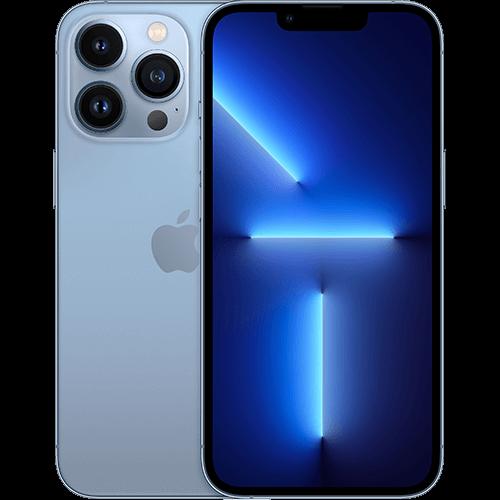Apple iPhone 13 Pro Sierrablau Vorne und Hinten