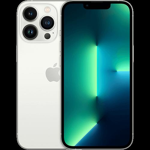 Apple iPhone 13 Pro Silber Vorne und Hinten