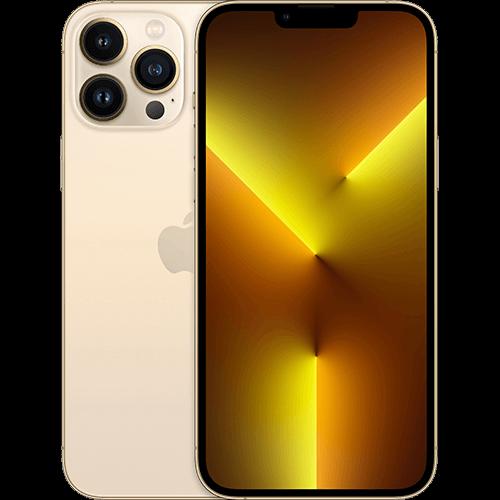 Apple iPhone 13 Pro Max Gold Vorne und Hinten