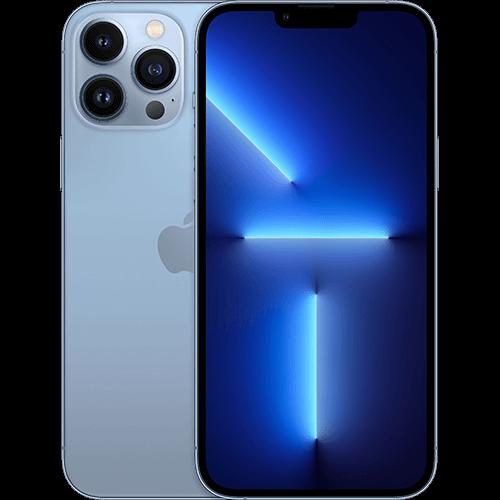 Apple iPhone 13 Pro Max Sierrablau Vorne und Hinten