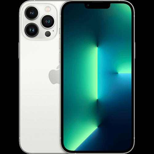Apple iPhone 13 Pro Max Silber Vorne und Hinten