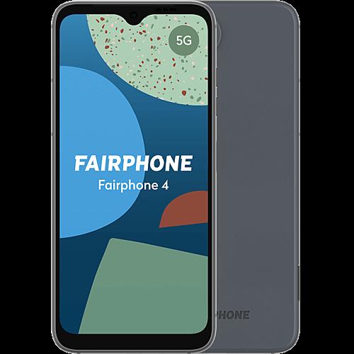 Fairphone 4 5G Grey Vorne und Hinten